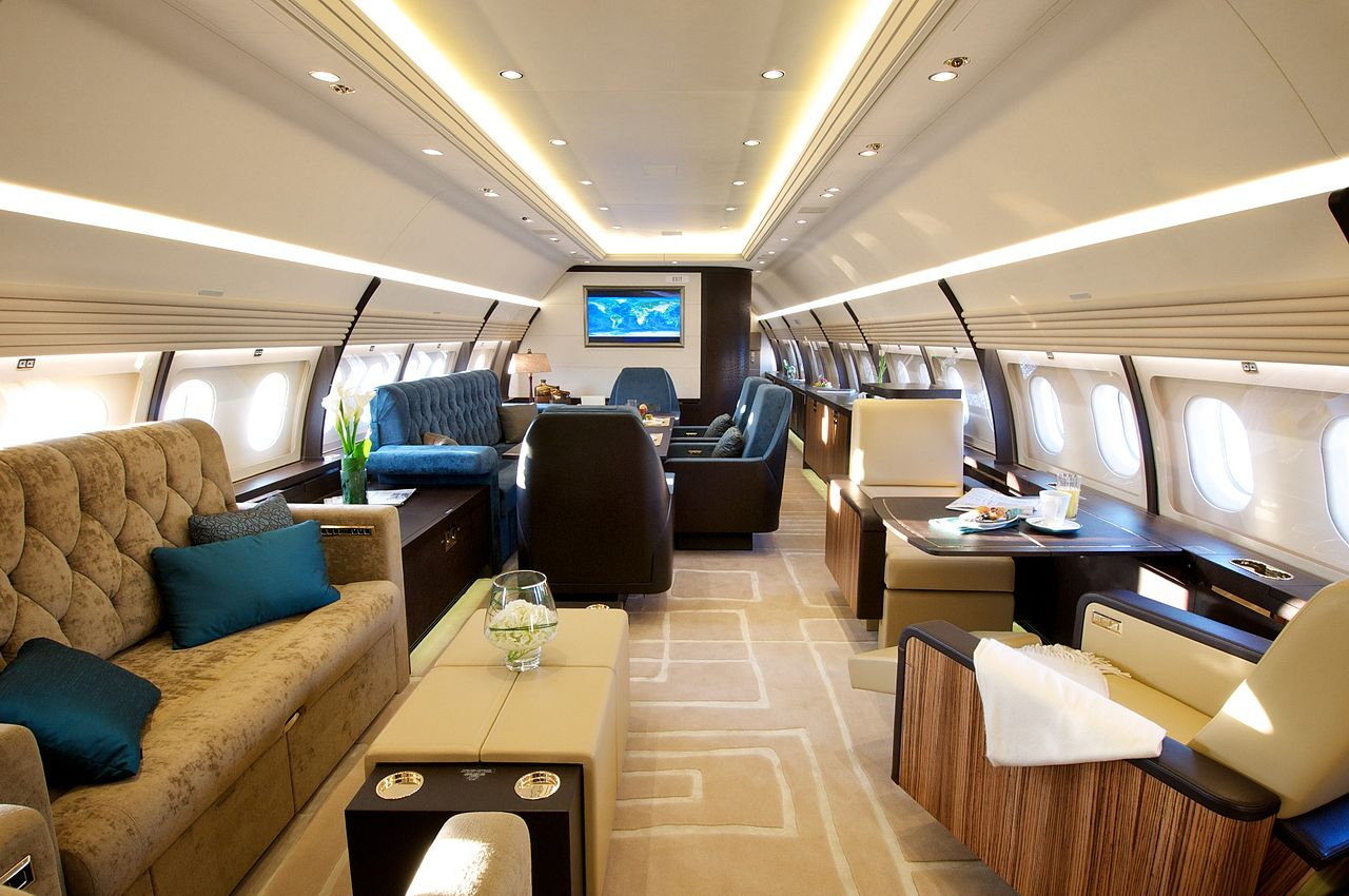 Executive Airliner Cabin