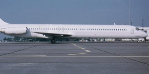 Fly private on a McDonnell Douglas MD 83