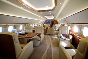 ACJ319 interior