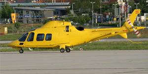Book a private flights on an Agusta 109