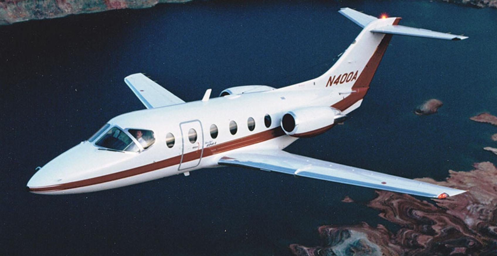 Beechjet 400A charter services