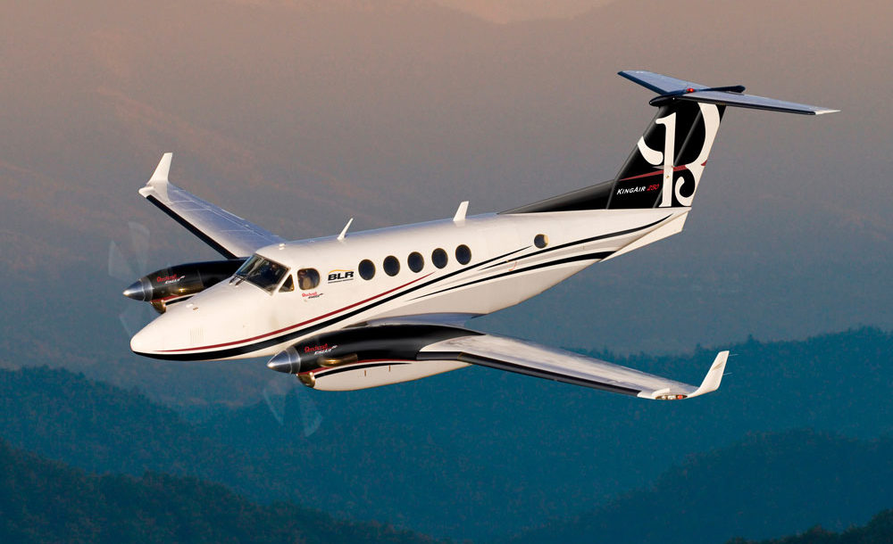 King Air 90 charter services