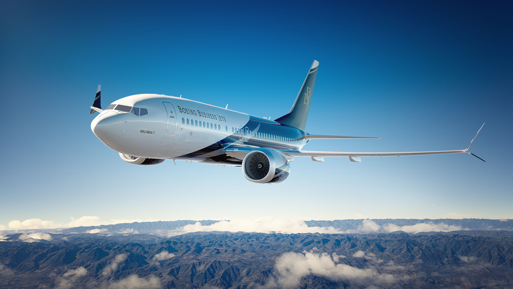 boeing business jet charter services