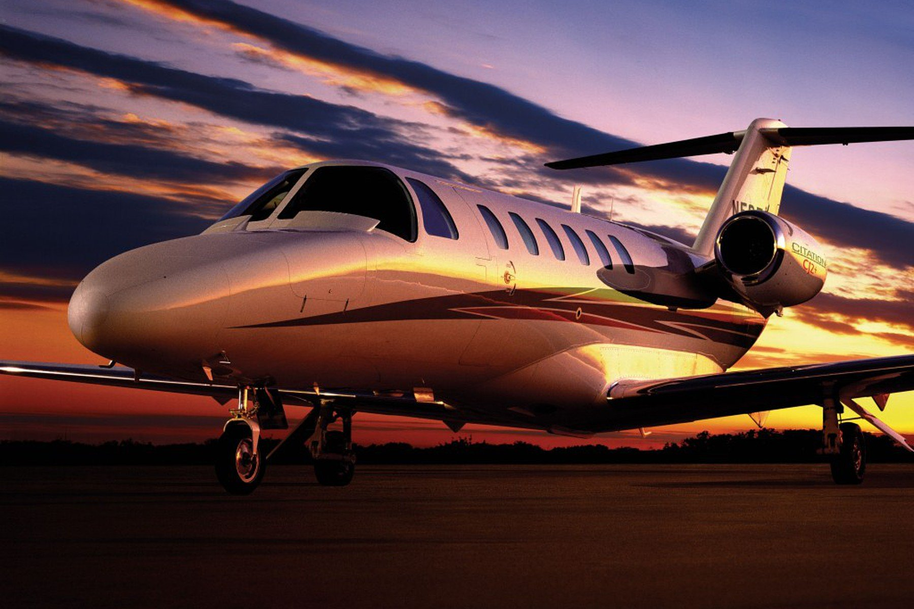 Citation CJ2+ charter jet