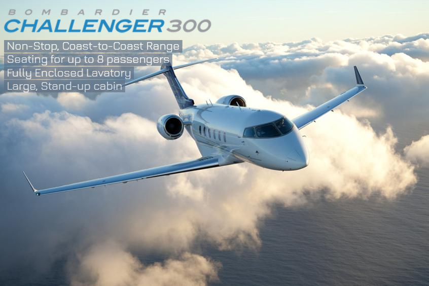 challenger 300 business jet