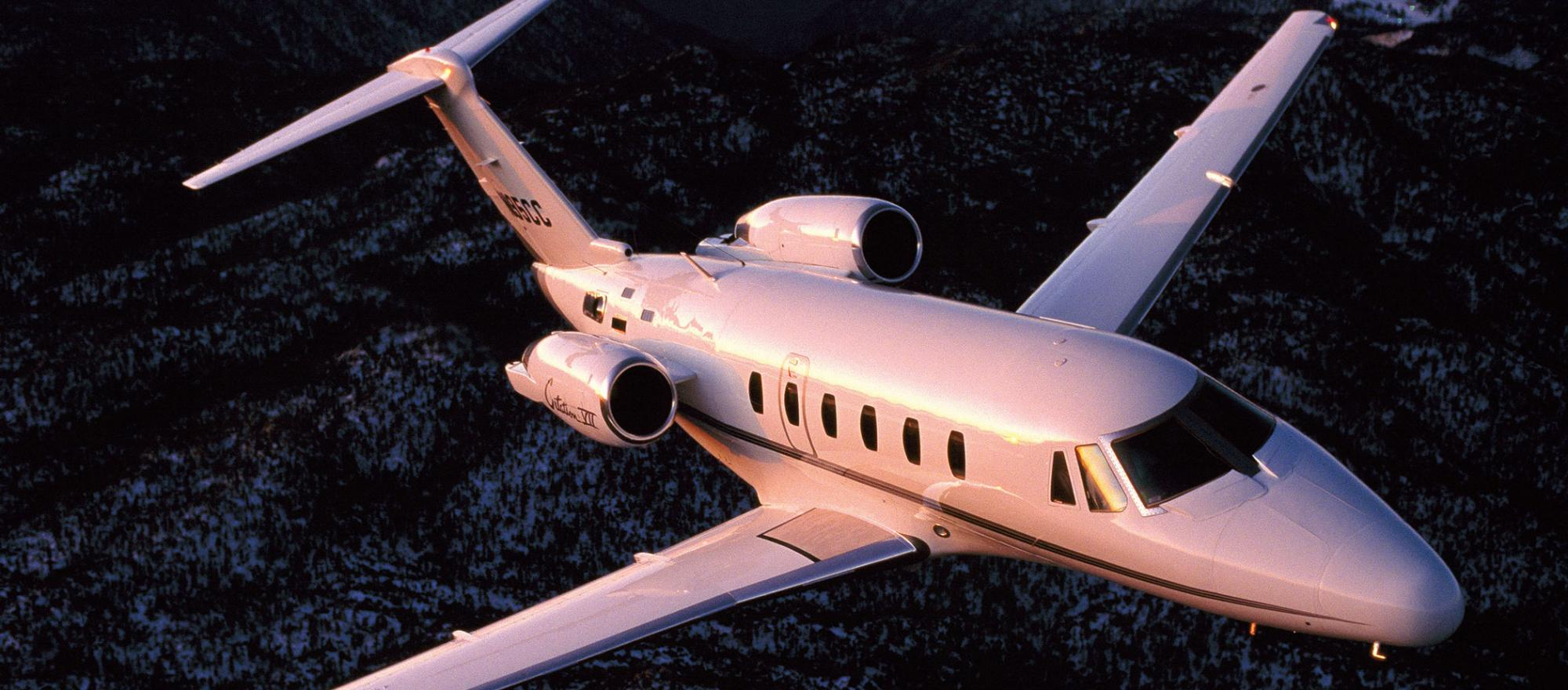 Citation VII charter services