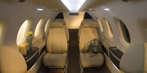 embraer phenom 300 interior