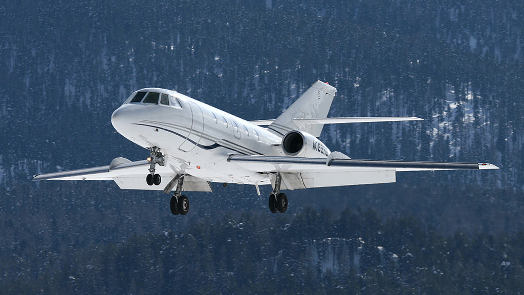 Dassault Falcon 20 charter services