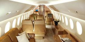 falcon 7x interior cabin