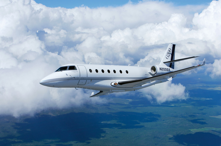 Gulfstream G200 business jet