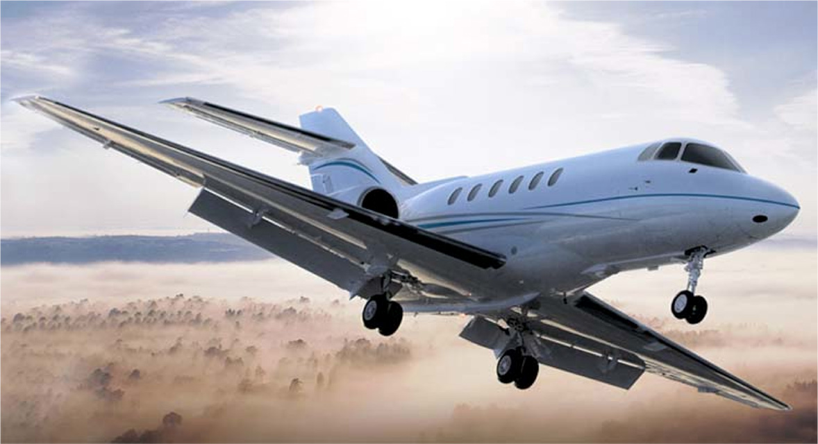 Hawker Beechcraft 750 jet charter services