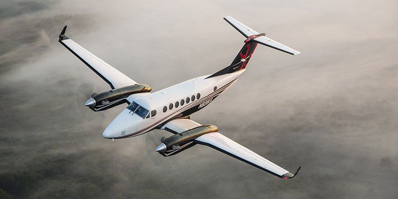 king air 350 charter services