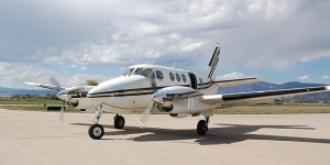 Charter a King Air 90 for private flights
