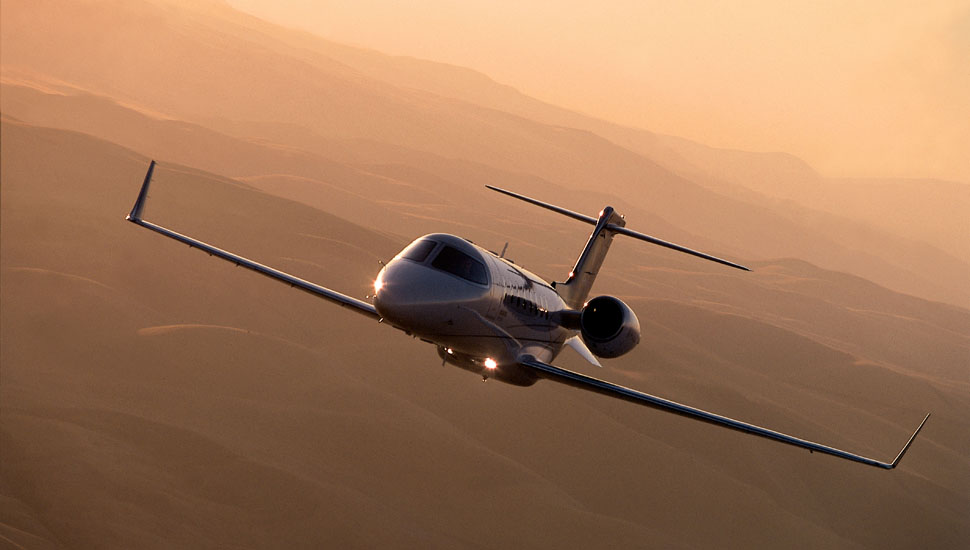 Lear 40 charter