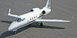 Fly private on a Learjet 55