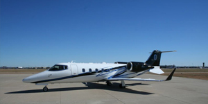 Private flights on a Learjet 60 60xr