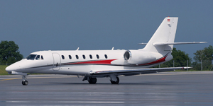 Private flights on a Cessna Citation Sovereign
