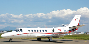 Fly private jet charter on a Cessna Citation V