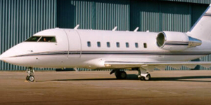 Fly private charter on a Challenger 604
