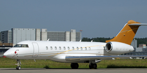 Charter a private flight on a Global 5000