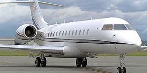 Fly private charter on a Global Express XRS