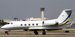 Charter a Gulfstream II SP