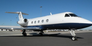 Fly private of a Gulfstream III