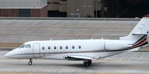 Private flights on a Gulfstream G200