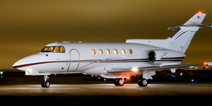 Fly private on a Hawker 700 750xp