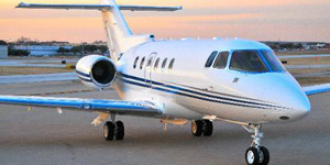 Book a private flight on a Hawker 900xp