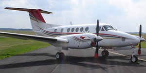 Fly private on a King Air 200
