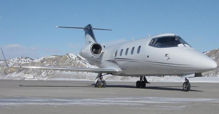 Learjet 55 charter