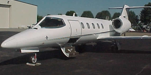 Private flights on a Learjet 31