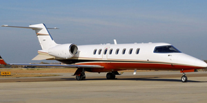 Charter a private flight on a Learjet 45 45xr