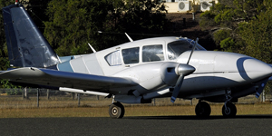 Charter a private flights on a Piper PA 23 Aztec