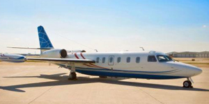 Charter flights on a Westwind I
