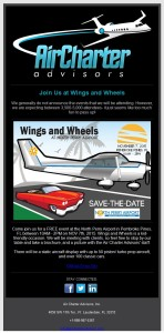 Wings and Wheels Newsletter