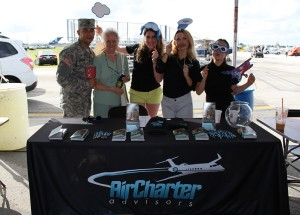 U.S. Army Recruiter at Wings and Wheels 2015