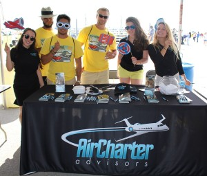 Volunteers at Wings and Wheels 2015