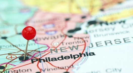 Philadelphia PHL airport by private air charter