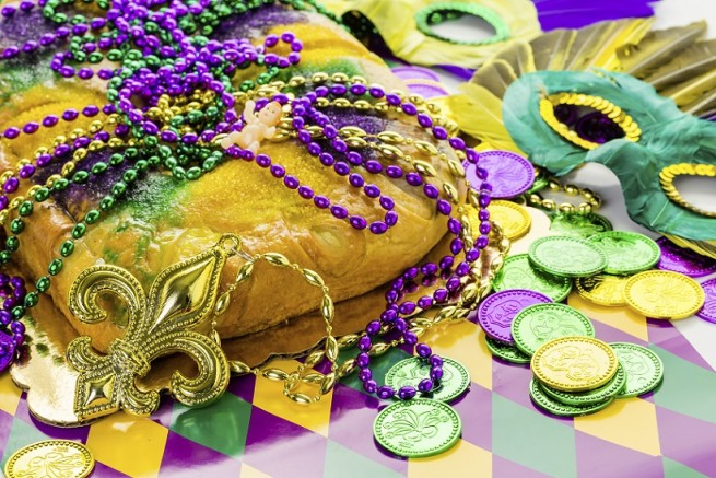 Fly private jet charter to New Orleans for Mardi Gras