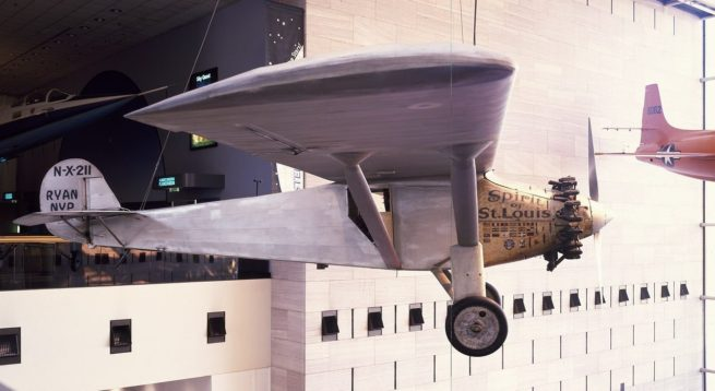 Historic airplane in St. Louis