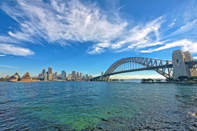 Charter a jet to Sydney, Australia