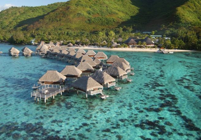 Luxury Bungalow Resorts in Tahiti