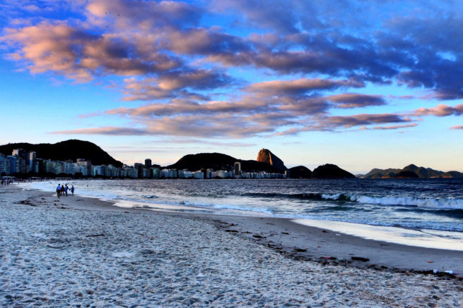 Fly private to Copacabana Beach