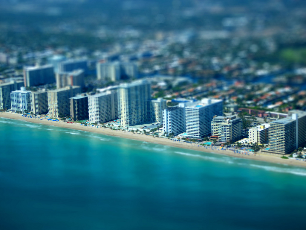 Luxury condos on Ft. Lauderdale Beach