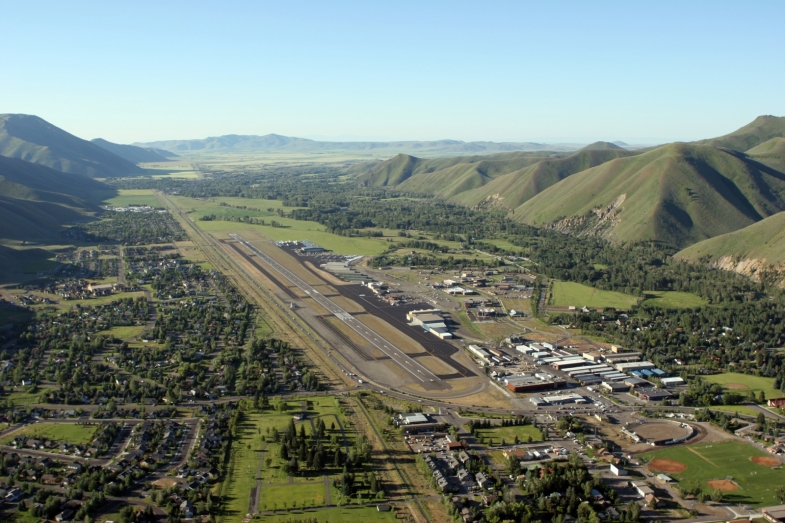 Friedman Memorial Airport (SUN) in Sun Valley