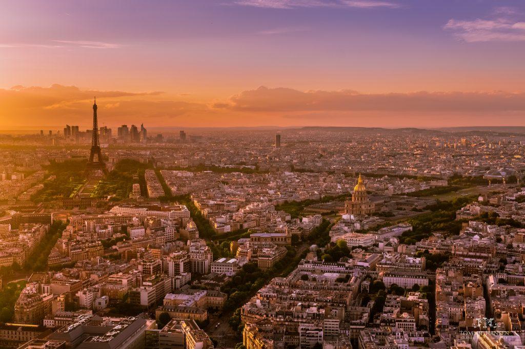 Paris-Jet-Rentals-Sunset-in-Paris