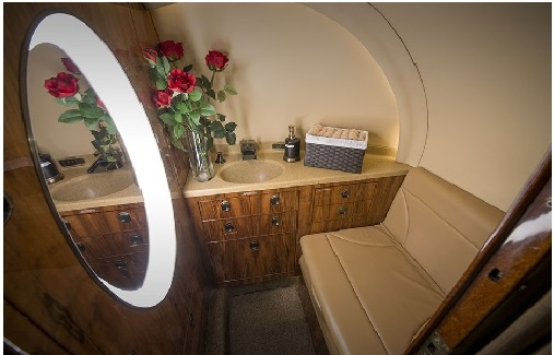 Private jet bathrooms frequently asked questions aca for Private jet bathroom