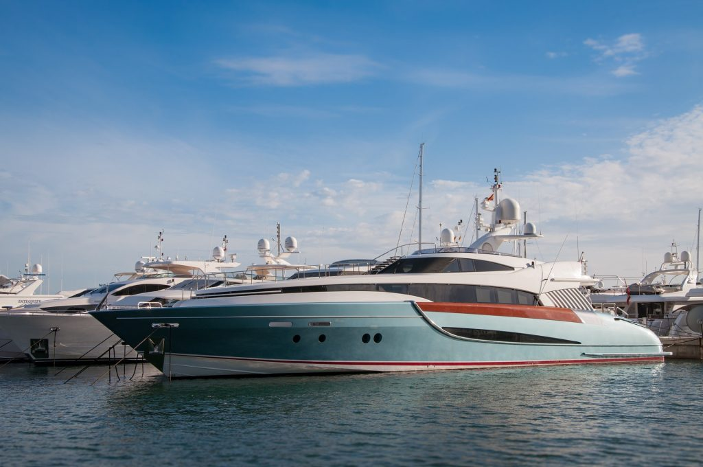 luxury yacht charters in Mallorca, Spain